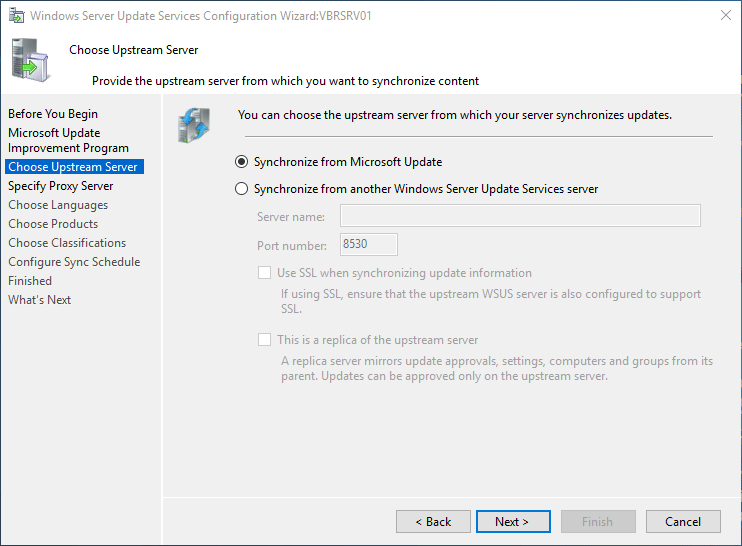 wsus16_19 Install and Configure Windows Server 2016 WSUS