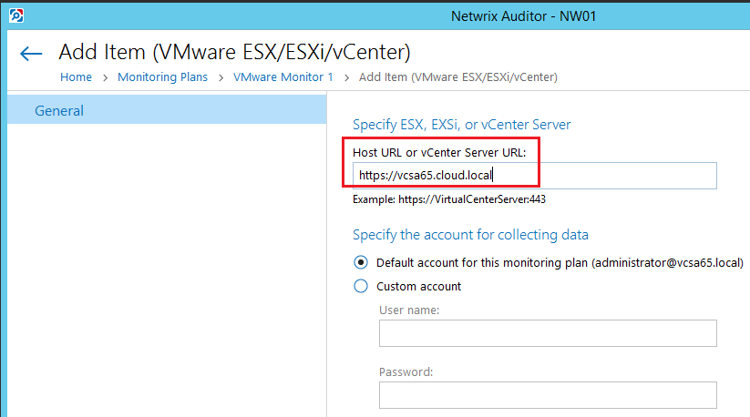 netwvm07 Audit VMware vSphere changes with Netwrix Auditor