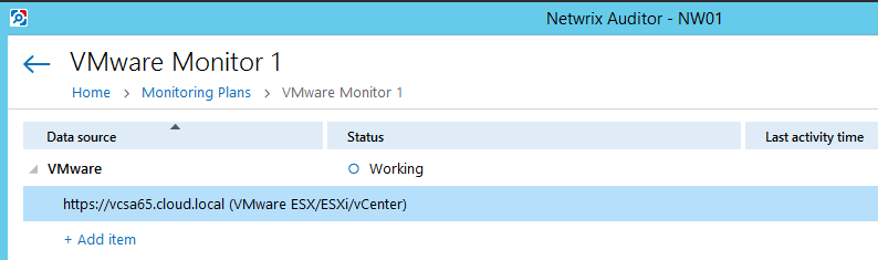 netwvm08 Audit VMware vSphere changes with Netwrix Auditor