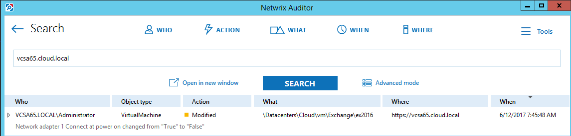 netwvm15 Audit VMware vSphere changes with Netwrix Auditor