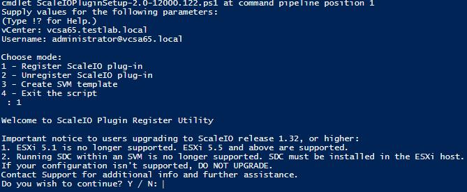 sciovm02 Install ScaleIO 2.0 in VMware vSphere 6