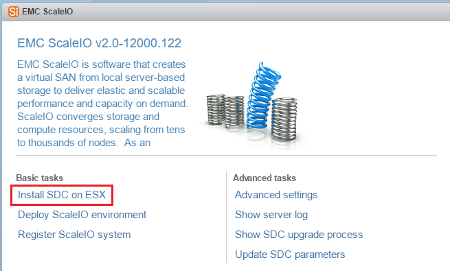 sciovm07 Install ScaleIO 2.0 in VMware vSphere 6