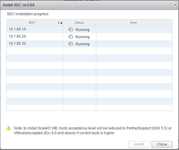 sciovm09 Install ScaleIO 2.0 in VMware vSphere 6