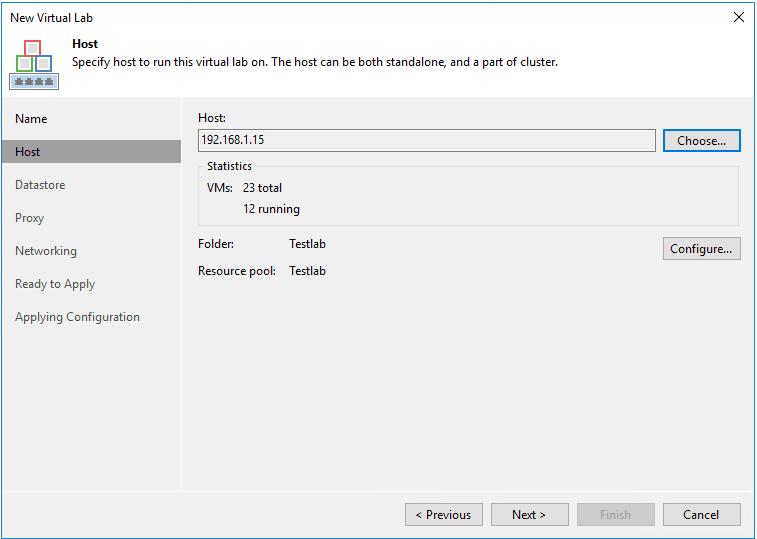 veaamlab03 Create Veeam Isolated Sandbox Virtual Lab