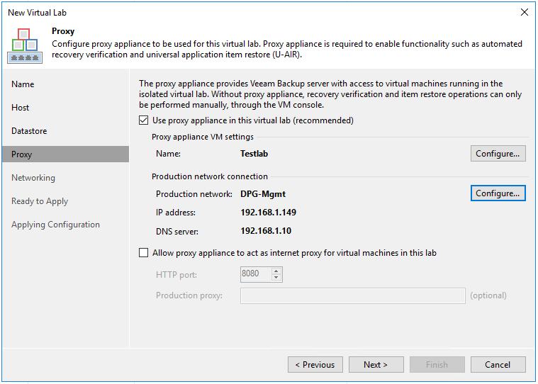 veaamlab06 Create Veeam Isolated Sandbox Virtual Lab