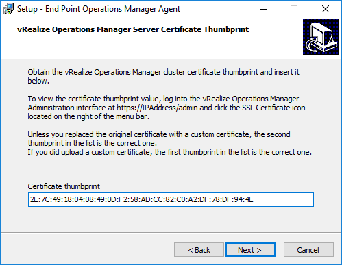 07 paste in the vrealize operations manager 6 6