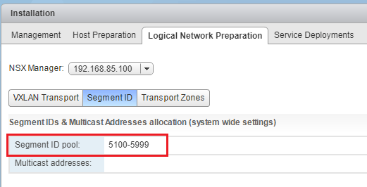 Logical-Network-Separation-Segment-IDs What is VMware NSX VXLAN