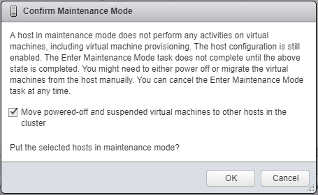 Move-powered-off-VMs-to-another-host Upgrade to VMware ESXi 6.5 Update 1 using VUM