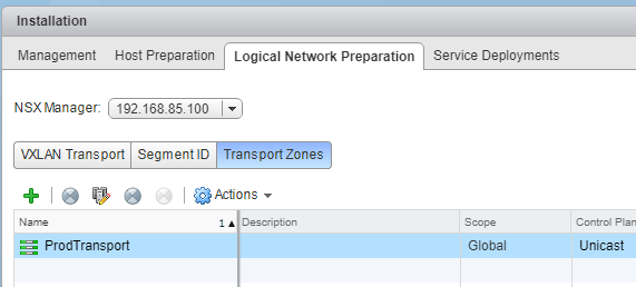 VMware-NSX-Transport-Zone What is VMware NSX VXLAN