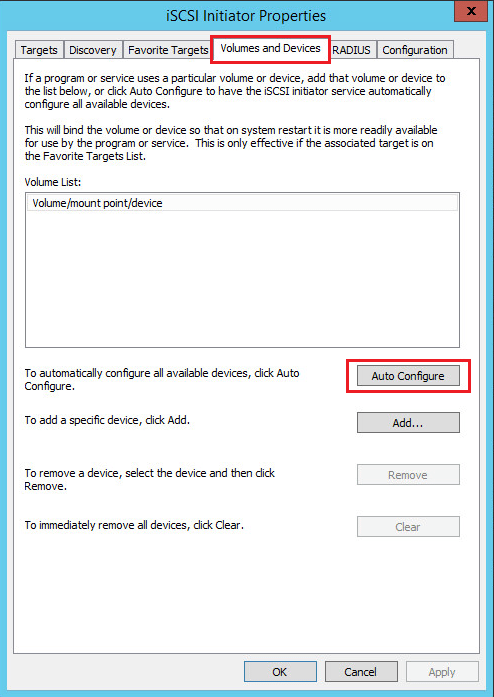 hvclusgui04 Add iSCSI Shared Storage in Windows Server 2016