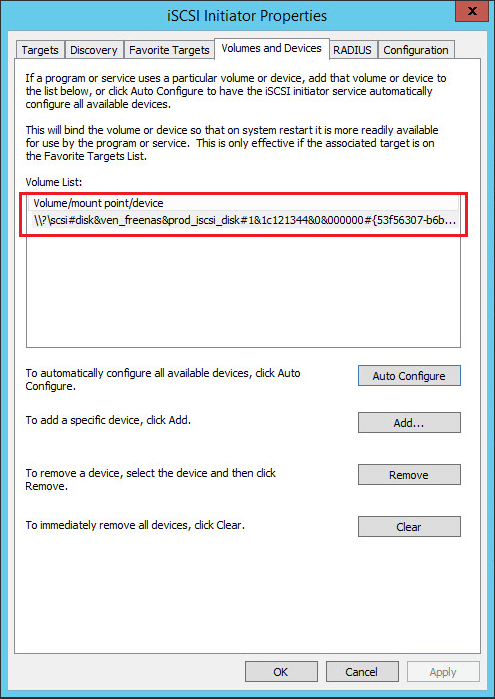 hvclusgui05 Add iSCSI Shared Storage in Windows Server 2016