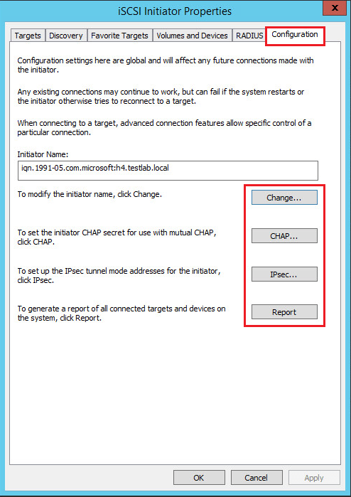 hvclusgui06 Add iSCSI Shared Storage in Windows Server 2016