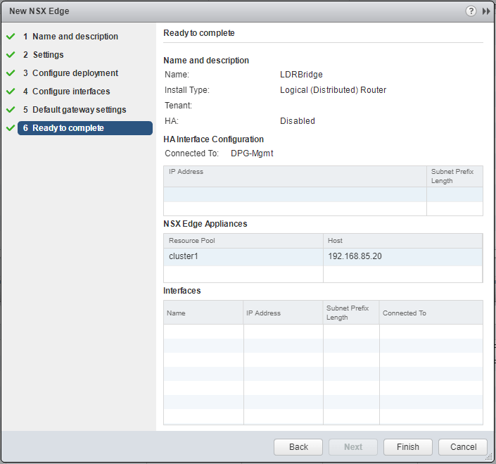 lswitch12 Extend layer 2 DR network with VMware NSX