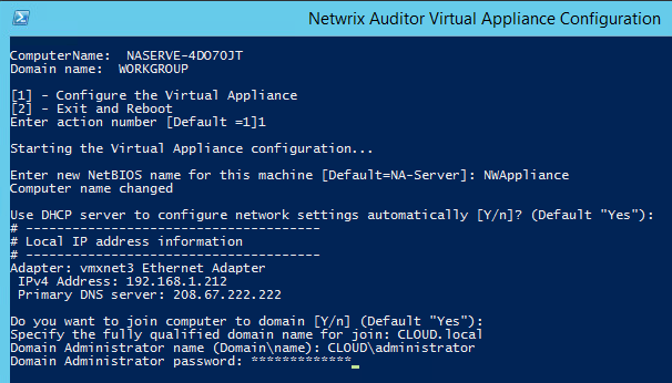 netwrixappliance09 Deploy Netwrix Auditor Virtual Appliance