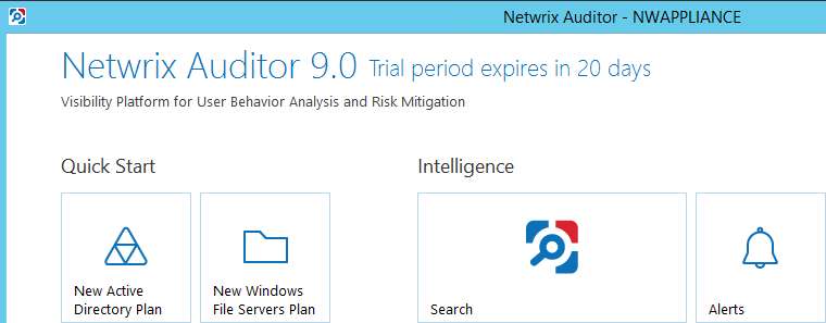 netwrixappliance11 Deploy Netwrix Auditor Virtual Appliance