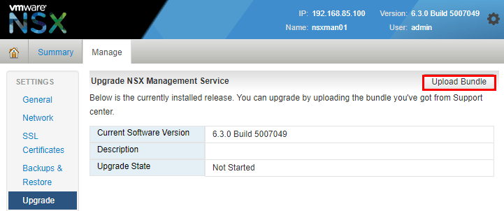 nsxmanup06 Upgrading VMware NSX to 6.3.2 NSX Manager