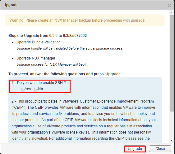 nsxmanup11 Upgrading VMware NSX to 6.3.2 NSX Manager
