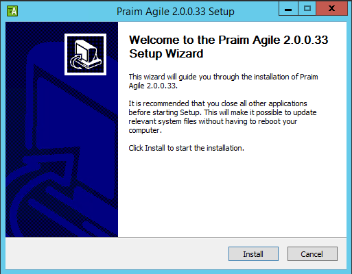 prmagile01 Praim Agile a Secure Mobile Interface for VDI and workstations