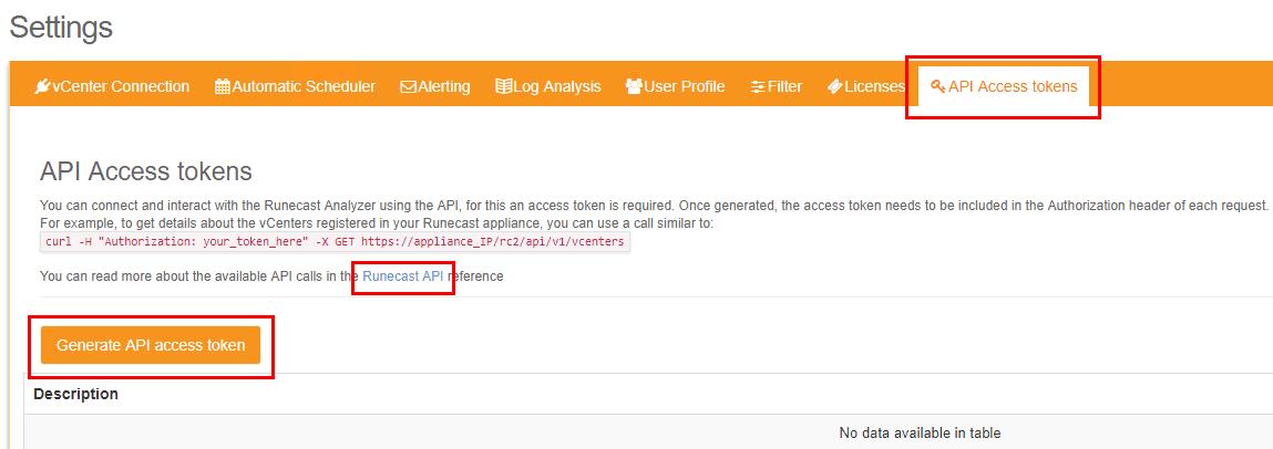 Configure-Runecast-Analyzer-API-Access-tokens