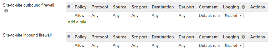 Create-inbound-and-outbound-rules-for-Azure-Meraki-VPN Configure Meraki to Azure Site to Site VPN