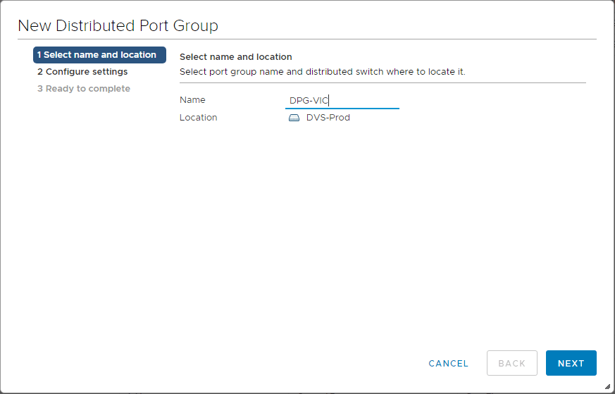 Create-vSphere-Integrated-Containers-Distributed-Port-Group-2 Installing VMware vSphere Integrated Containers Part 1