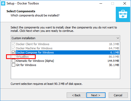 Install-Docker-Toolbox-Windows-no-VirtualBox Installing VMware vSphere Integrated Containers Part 1