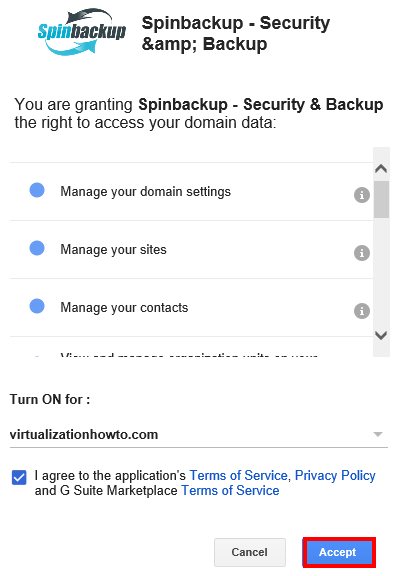 Spinbackup-Security-Backup-domain-access-rights Spinbackup G Suite Security and Backup Installation