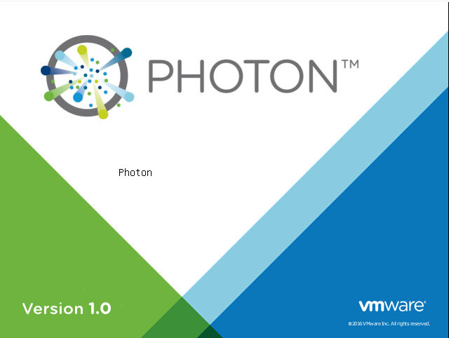 VMware-Photon-OS-1.0-Booting What is VMware Photon OS?