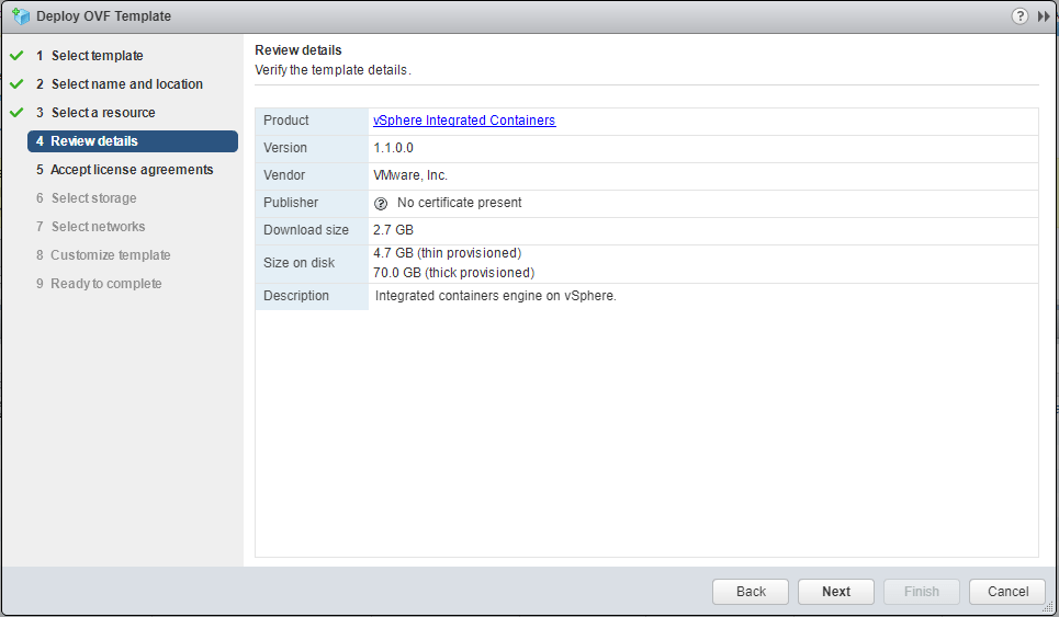 VMware-vSphere-Integrated-Containers-OVA-Requirements Installing VMware vSphere Integrated Containers Part 1