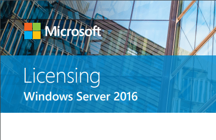 Windows-Server-2016-Licensing Windows Server 2016 Hyper-V Versions