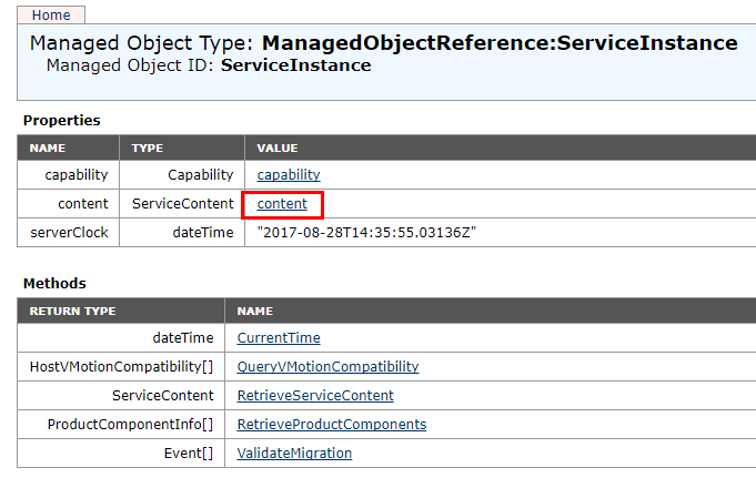 vCenter-MOB-content-menu Managing Disabling Deleting VMware vCenter Server Plugins