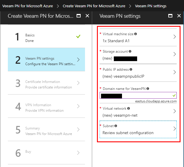 Azure-Configure-Veeam-PN-Settings Veeam Powered Network Overview and Installation