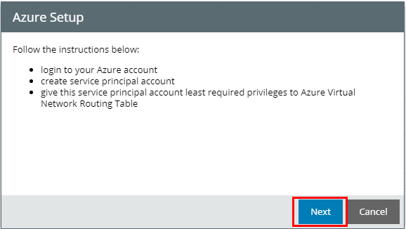 Azure-setup-login-to-account Veeam Powered Network Overview and Installation
