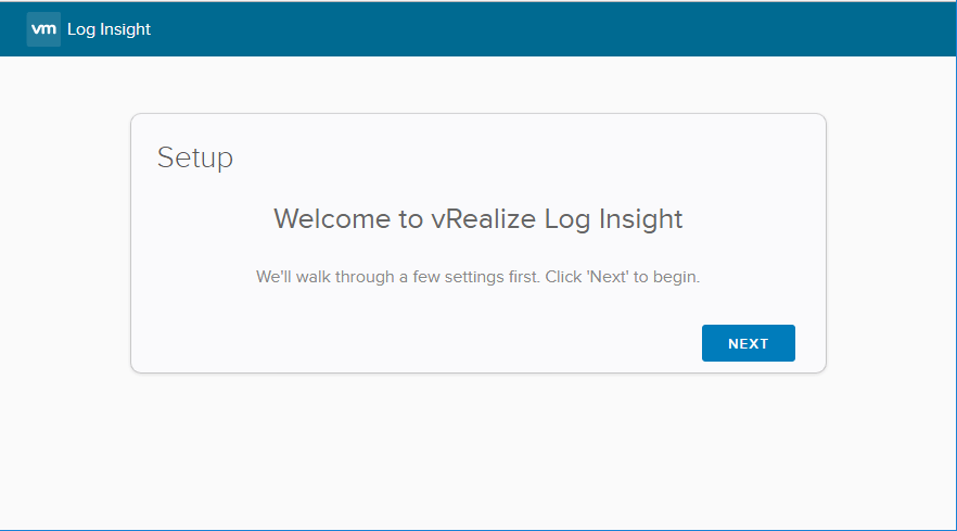 Launch-Setup-of-vRealize-Log-Insight-4.5-Server What is VMware vRealize Log Insight for vCenter Server