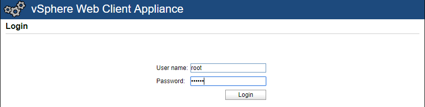 Login-to-the-VAMI-interface-for-vSphere-HTML5-appliance New VMware vSphere 6.5 HTML5 Web Client Features with Fling