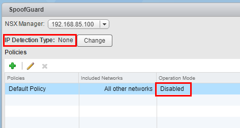 SpoofGuard-disabled-by-default What is VMware NSX SpoofGuard