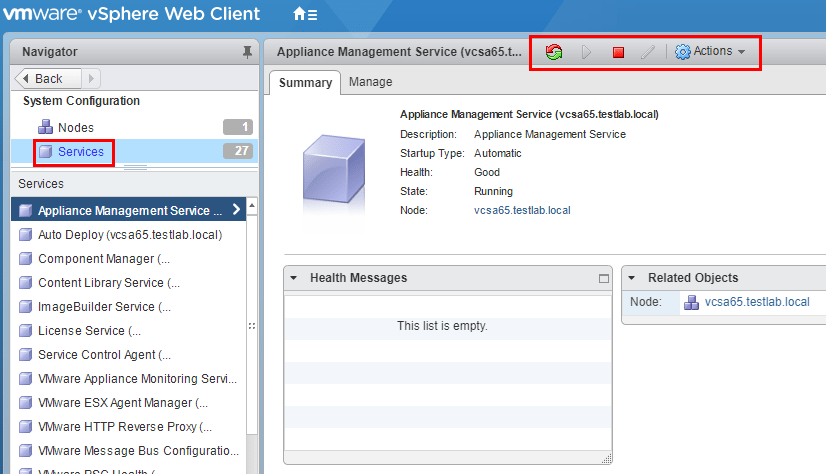 Monitor and Troubleshoot VMware vCenter Server VCSA Performance