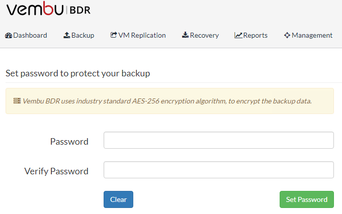 Vembu-BDR-Suite-Encrypted-backups Vembu BDR Suite Unlimited Free Backups
