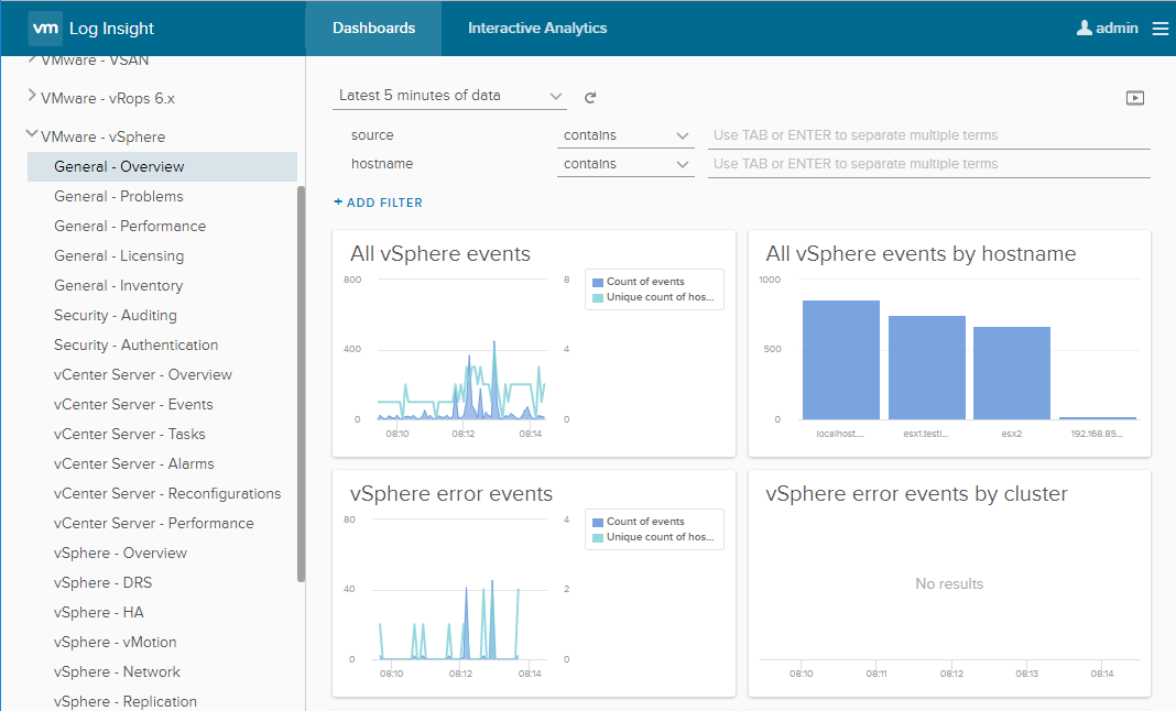 vRealize-Log-Insight-Server-starting-to-pull-data What is VMware vRealize Log Insight for vCenter Server