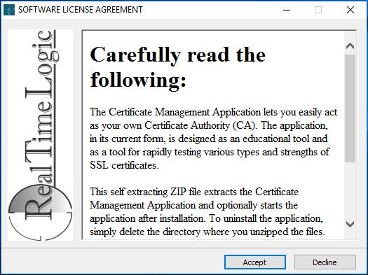 Beginning-the-Certificate-Managemet-Tool-installation