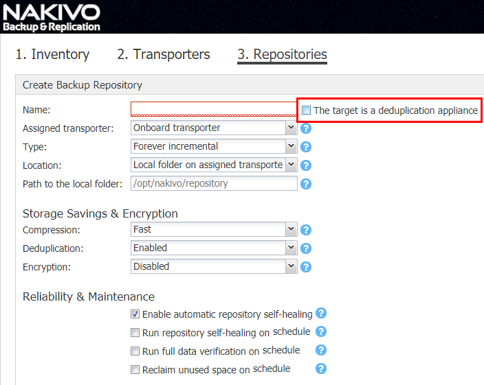 Create-a-Dedup-disabled-repository-in-NAKIVO-Backup-Replication-7.3-