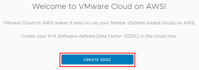 Creating-a-new-SDDC-VMware-on-AWS VMware Hands On Labs Learning Resource