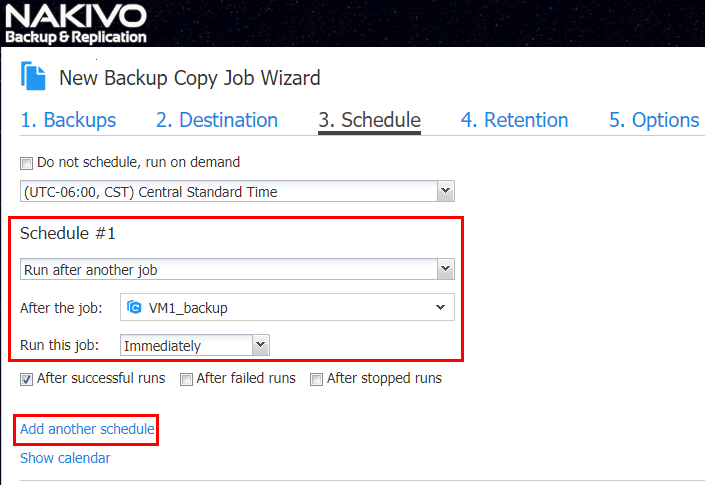 Leverage-Job-Scheduling- VMware Backup Best Practices Checklist