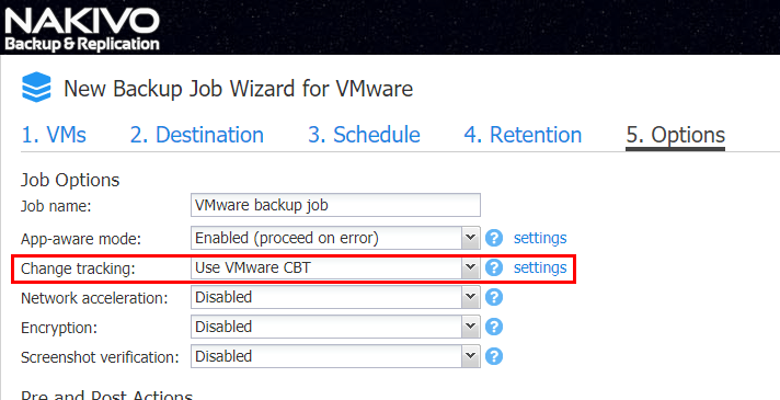 Make-use-of-VMware-Changed-Block-Tracking VMware Backup Best Practices Checklist