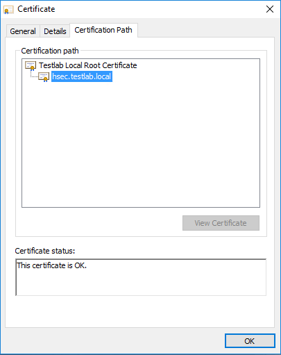 SSL-Certificate-certification-path-looks-good-also