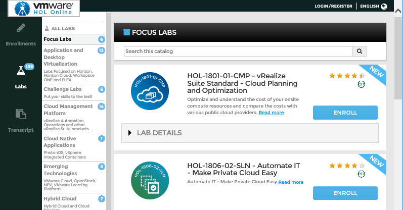 VMware-Hands-On-Labs-Content VMware Hands On Labs Learning Resource