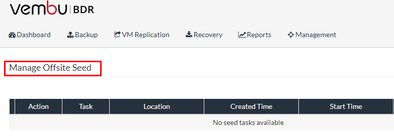 Vembu-Manage-Offsite-Seed-to-DR Increase VMware Backup Performance