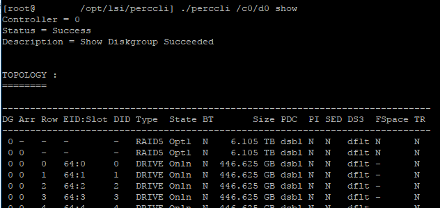 Manage Dell RAID in VMware ESXi 6 5 with PERCCLI - Virtualization Howto
