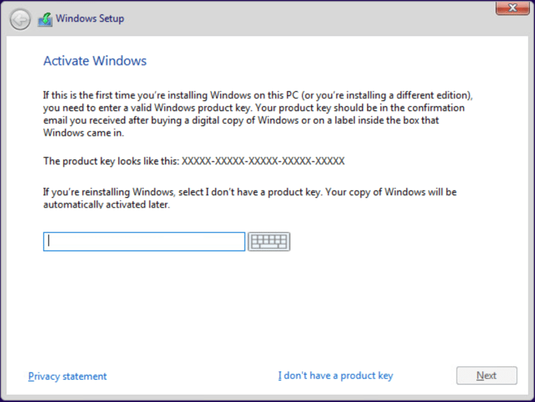 Installing Windows 10 Pro for Workstations - Virtualization