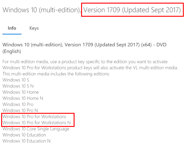 key windows 10 pro 64 bit 2017